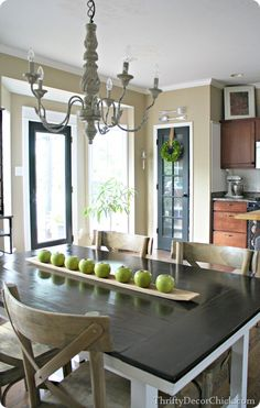 Simple Decorating with #Apples on a Tray! #kitchen #decorating