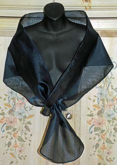 12 Best Wraps images in 2017 | Evening shawls, wraps, Black