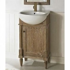 Pottery Barn Style Bathroom Double Vanities