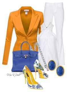 Ease from Summer to Fall Classic Outfits, Casual Outfits, Trouser Outfits, Fashion Outfits, Diva Fashion, Womens Fashion, Fashion Design, Yellow Long Sleeve Dress, Cute Work Outfits