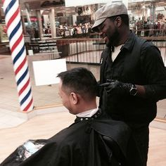 @mrwrencuts It never feels like work when you enjoy what you're doing.  #iCape #barber #barbershop #hairstylist #stylist