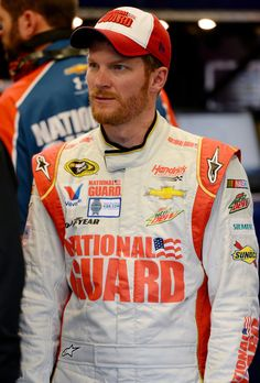 Dale Earnhardt Jr. I dont care that hes a NASCAR driver. #datbeard