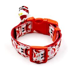 Christmas Adjustable Pet Dog Christmas Collar+Leash Set Santa Claus Style Pet Dog Collar Puppy Small Dog Collar Products Supply  #Affiliate