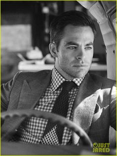 Holy Hotness Batman! Chris Pine Covers 'C For Men' Magazine Spring 2013