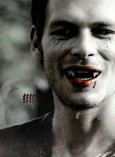 Part wolf-part vampire. A Hybrid. Perfection that is Klaus (Joseph Morgan)
