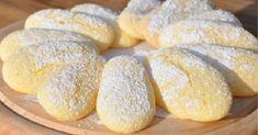 The Federica kitchen: homemade Savoiardi Custard Biscuits, Biscotti Biscuits, Biscotti Cookies, Galletas Cookies, Italian Cookie Recipes, Italian Cookies, Italian Desserts, Best Cookie Recipes, Italian Foods