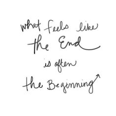 The End + The Beginning