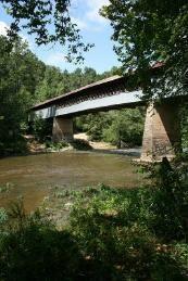 Swann Covered Bridge - Blount County, Alabama