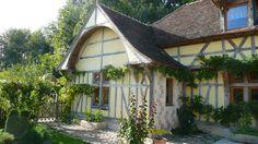 les charpentiers de troyes maisons pans de bois | maison à saint léger réalisation d une maison à pans de bois à ...