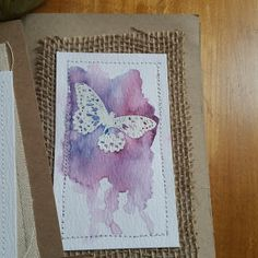 Watercolor Cards with Color Burst