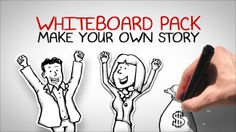 Whiteboard Pack - Make Your Own Story