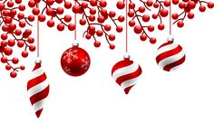 Red Christmas Decoration PNG Clipart Image | Gallery Yopriceville - High-Quality Images and Transparent PNG Free Clipart