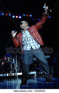 Sep. 17, 2011 - Portsmouth, Virginia, U.S. - R&B singer AVANT performs live at the nTelos Wireless Pavilion in Portsmouth - Stock Photo