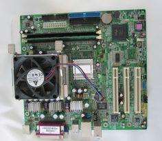 Intel Pentium 4 2 4 GHz 768 RAM Intel Chip Set Motherboard | eBay