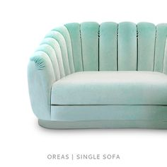 OREAS SINGLE SOFA by BRABBU. Do you need more sofa ideas for your living room? Visit http://livingroomideas.eu/ and find the best tips