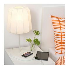 "Wireless charging IKEA ""VARVE"" lamp"