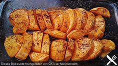 Glacierte Süßkartoffeln