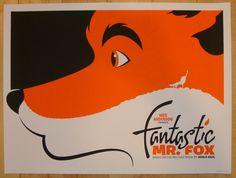 """2012 """"The Fantastic Mr. Fox"""" - Movie Poster by De Pippo"""