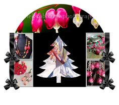 Merry Special(T) Pink Christmas! by rescuedofferings on Polyvore featuring art, integrityTT and EtsySpecialT