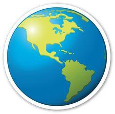 Earth Globe Americas