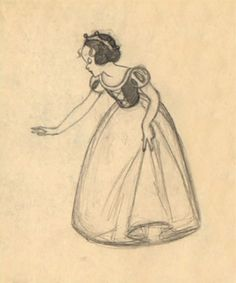 Scurvie's Disney Blog! - Snow White Concept Sketch