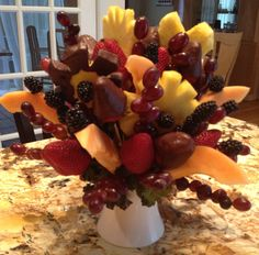 Our Mother's Day Fruit Arrangement