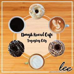 Visit Dough Knead Cafe to warm you in the middle of Tagaytay's cold weather! Enjoy their coffees and pastries, only 3KM away from #LeeBoutiqueHotel