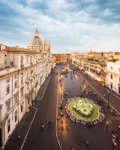 #Roma Piazza Navona ♠ photo by Julian Burchielli (@julian_h501) su Instagram:
