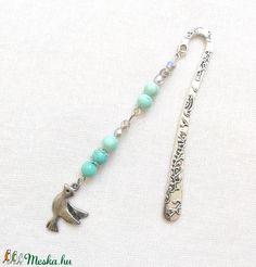 Madárkás könyvjelző (amethysta) - Meska.hu Beaded Bracelets, Jewelry, Fashion, Moda, Jewlery, Jewerly, Fashion Styles, Pearl Bracelets, Schmuck