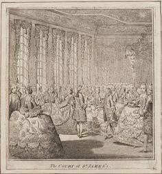 """""""The Court at St. James's"""", ca. 1766; LWL 766.00.00.12"""