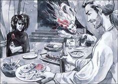 Cinema- Neil Gaiman revela arte conceitual de filme do Sandman.