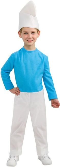 Smurf Boy Costume
