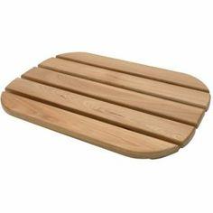 Rubber Wood Duck Board Homebase Wood Wooden Bathroom Accessories Wood Ducks