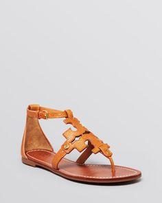 Tory Burch Flat Thong Sandals - Phoebe