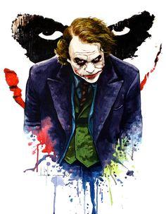 Incredible Joker Illustrations   Creative Greed
