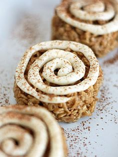 Rice Krispies treats aren't off limits for breakfast. Make a morning version with this clever twist on a cinnamon roll. Get the recipe at Cooking Classy.   - Cosmopolitan.com