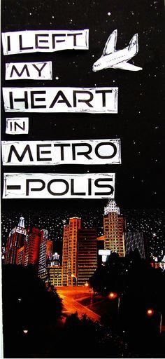 I left my heart in metropolis <3 #OwlCity