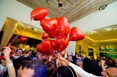 balões com gás
