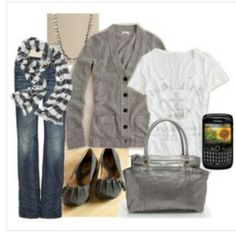 Cute and simple fall outfit