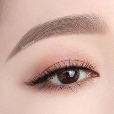 ✔️Used Products Eyebrow . - Makeup Tips Plus Size - Eye Makeup Korean Makeup Look, Korean Makeup Tips, Asian Eye Makeup, Korean Makeup Tutorials, Makeup Trends, Makeup Inspo, Makeup Inspiration, Kiss Makeup, Beauty Makeup
