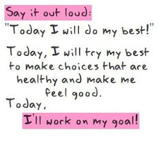 Today I Will  (weight loss blog)