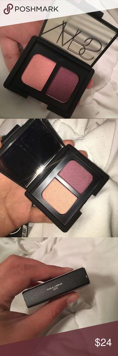 NARS Duo Eyeshadows in Kuala Lumpur Kuala Lumpur- rose gold/ boysenberry infused with gold Makeup Eyeshadow