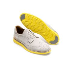 NEON LEATHER SPORTY BLUCHER - Shoes - Man | ZARA Mexico