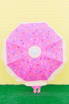 donut umbrella after