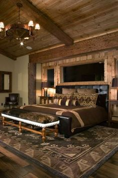 1284 Bedroom Design Ideas Images Pinterest 2018 Chic Rustic Log