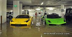 Ferrari 458 Italia crashed in Singapore, Singapore
