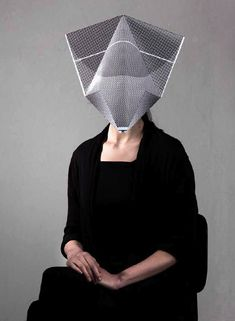 Netherland based architect michael schoner has developed 'A3 animals'. these paper masks are made from A3 sized sheets which can be folded into an animal mask.