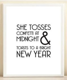 Toast to a bright new year!