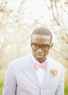 seer sucker suit for the groom