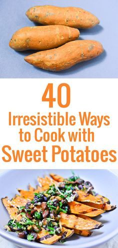 Stuck in a sweet potato rut? Here are 40 irresistible recipes to cook with them, plus tips and advice on how to buy and store.